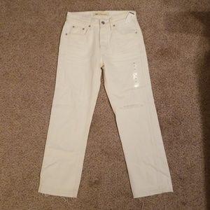 New GAP Women's Vintage Straight Jeans Pants 24